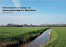 Schetsontwerp natuur- & duurzaamheidspark Steendam