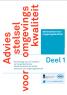 Kwaliteitsadvies en de Omgevingswet