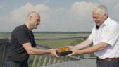 Gemeente Noordenveld ontvangt Mooiwaarts Wisseltrofee 2021