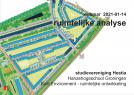 Kennisdeling over  belang en aanpak ruimtelijke analyses